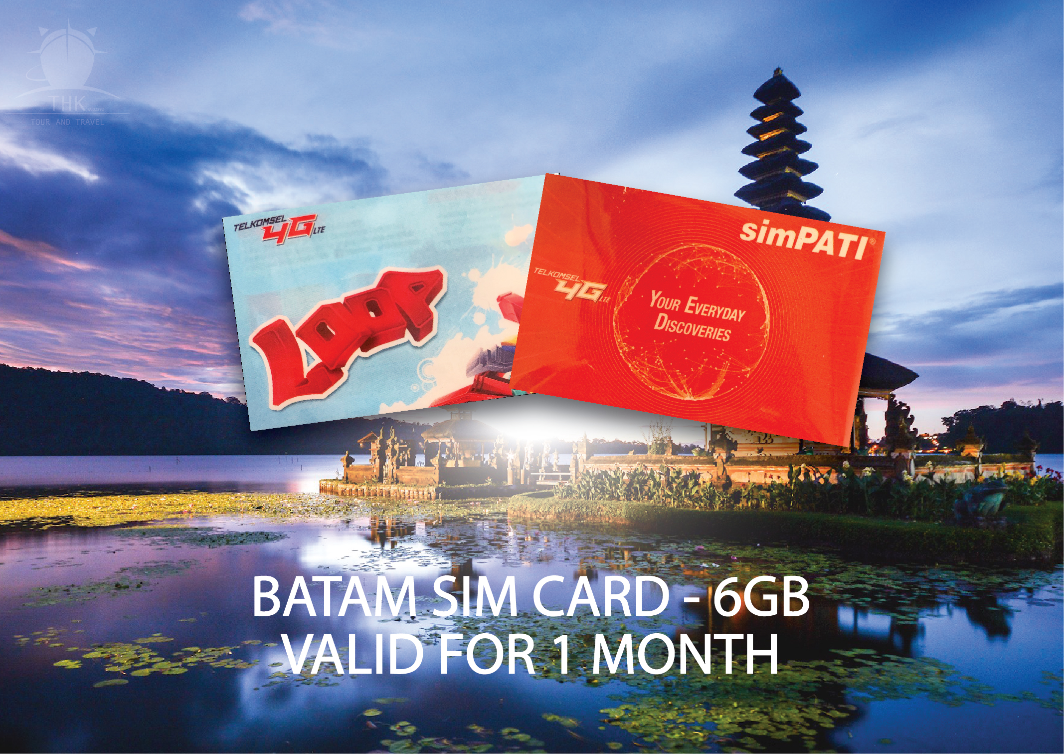 Batam Data Sim Card for Mobile Phone
